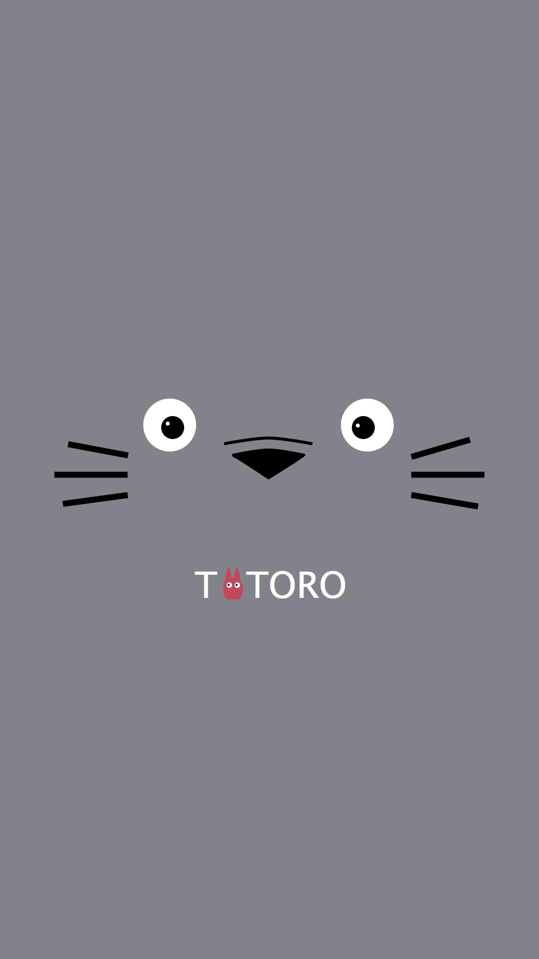 anime totoro iphone wallpaper