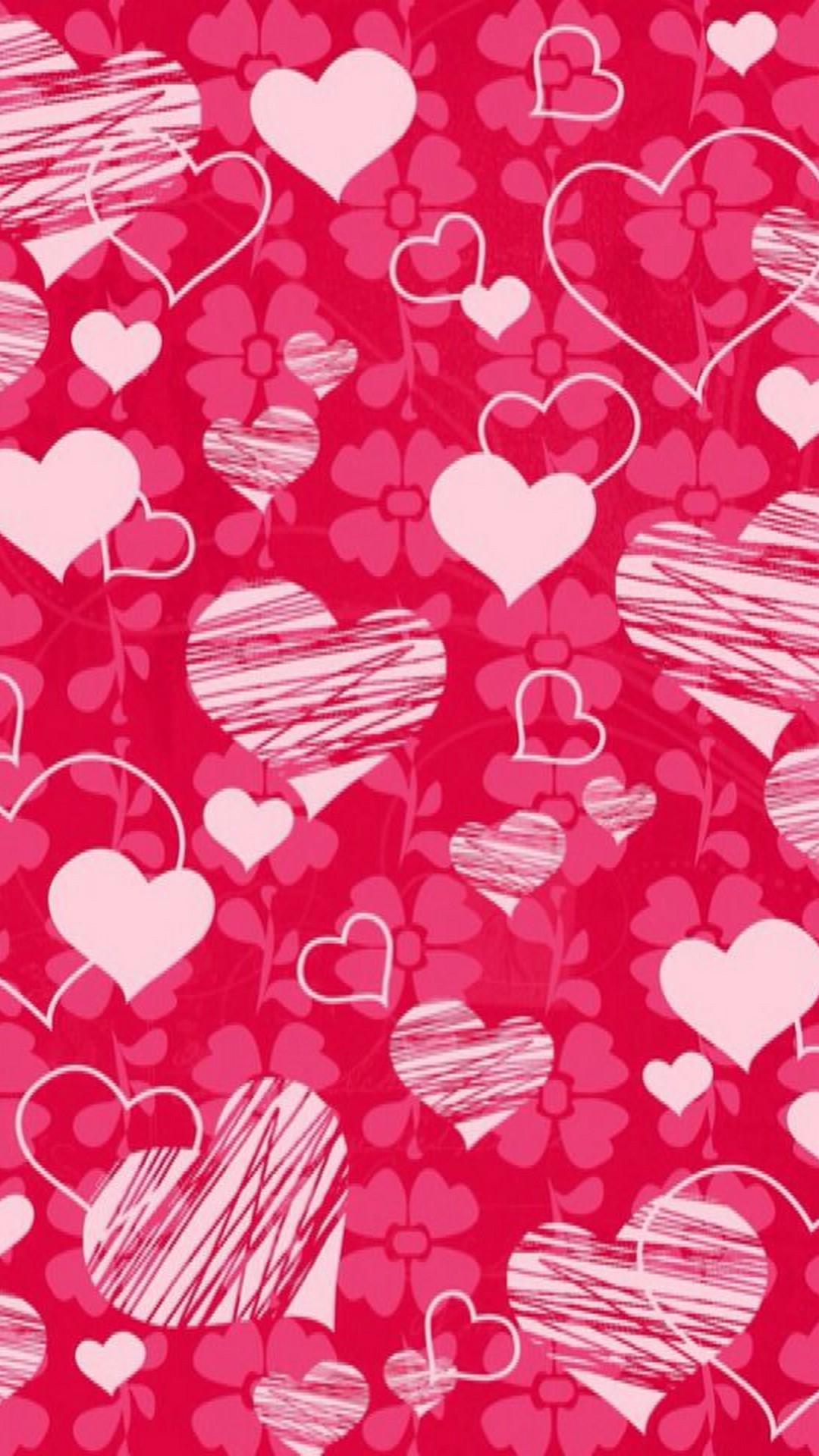 Heart Pattern Cute Iphone Wallpaper Iphone Wallpaper