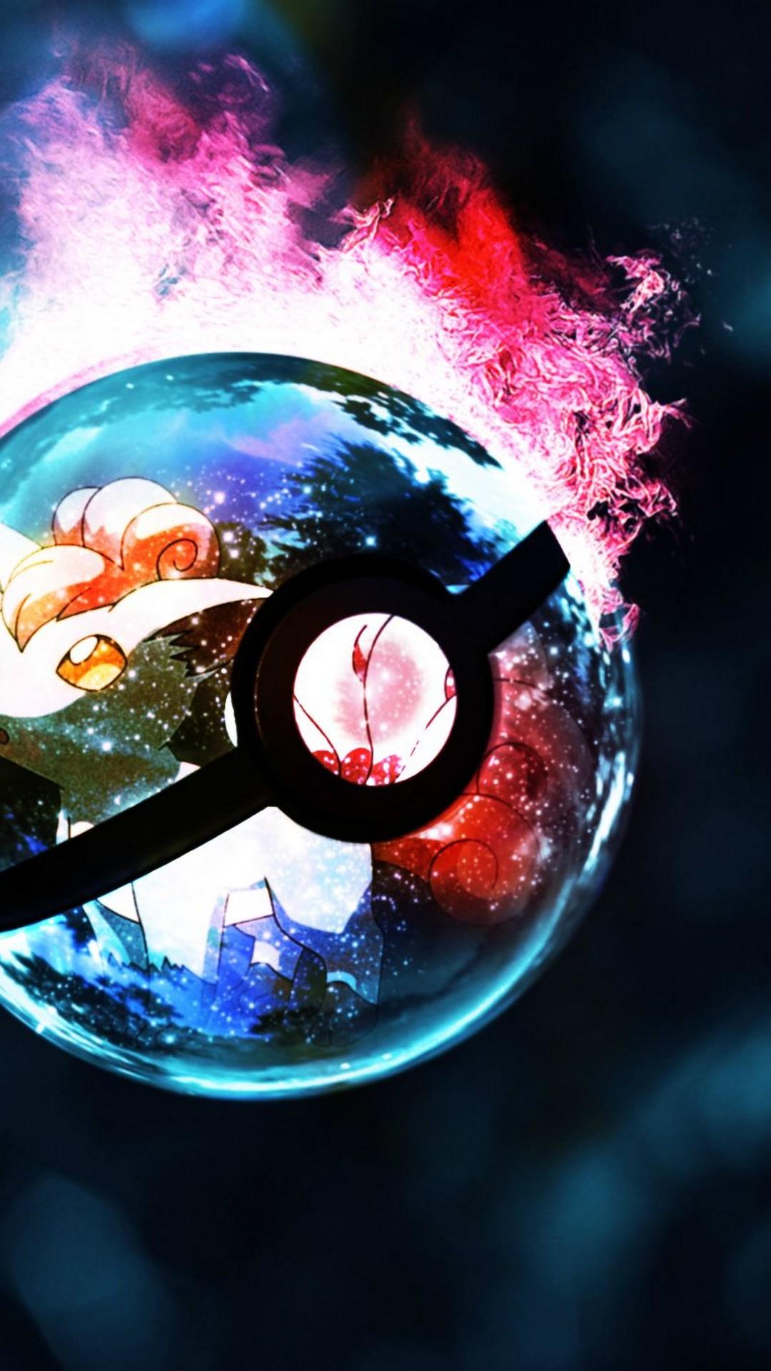 Monster Ball Pokemon Iphone Wallpaper