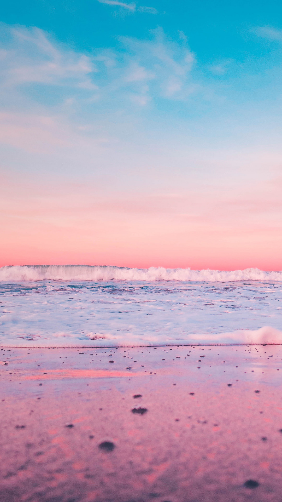 Pastel Colored Beaches Iphone Wallpapers