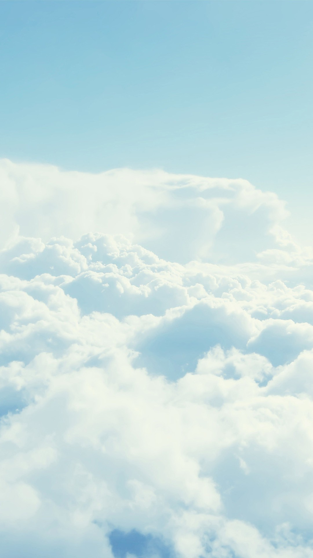 White Clouds Iphone Wallpapers