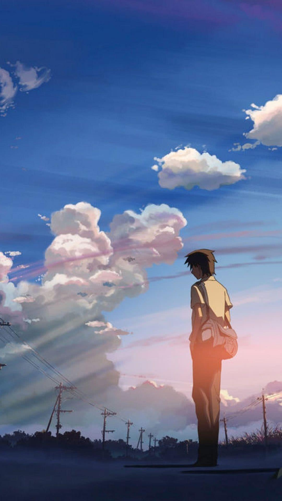 Anime 5 Centimeters Per Second Iphone Wallpapers